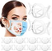 Suporte de máscara facial 3D de silicone, moldura de suporte interno para máscara facial, suporte de máscara p