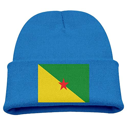 Anaheim Watch Heart Ducks - Go Ahead! boy Flag of French Guiana Kid's Hats Winter Funny Soft Knit Beanie Cap Children Unisex