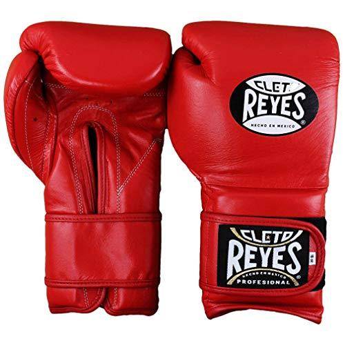 (Cleto Reyes Hook & Loop Training Gloves (12 Ounce, Red.) )