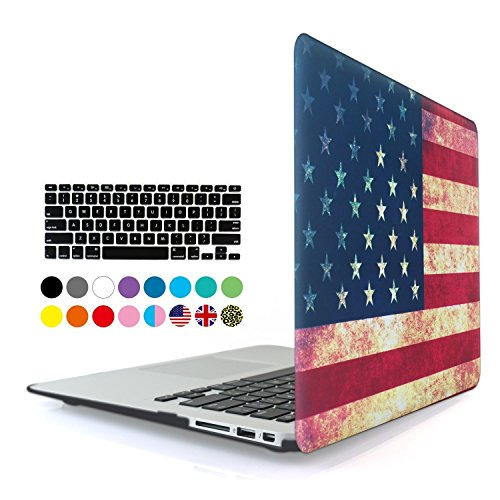 Eastchina 2 in 1 Ultra Slim Light Weight Soft-Touch Hard Shell Case Cover for Apple Macbook Pro 13.3'' with Retina display, Model: A1502 | A1425 (Macbook Pro 13