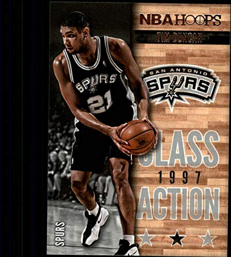 f7b904b93 Amazon.com  2013-14 NBA Hoops Class Action  16 Tim Duncan San Antonio Spurs  Official Basketball Card (made by Panini)  Collectibles   Fine Art