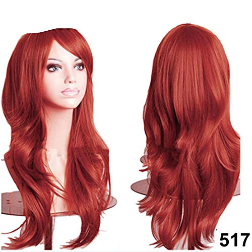 56CM Loose Wave Synthetic Wigs for black women