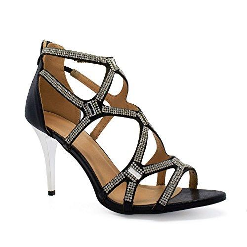 London Footwear - Zapatos de tacón  mujer Negro - negro