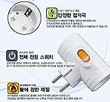 3Way T-Bone Korean Safety Switch Power Multi Tap
