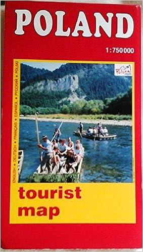 Poland tourist map Polandthe natural choice Polska Polska