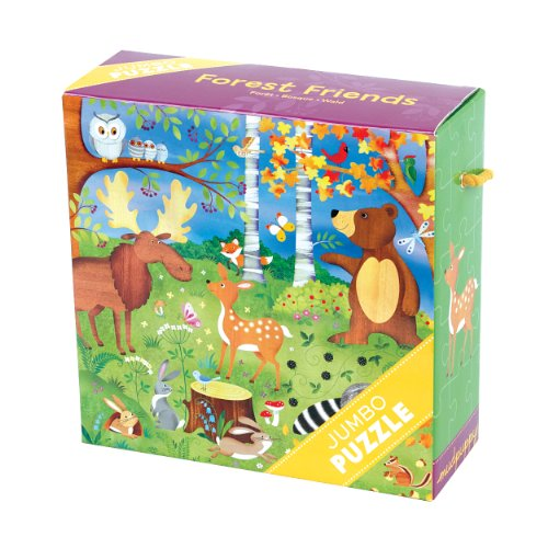 (Mudpuppy Forest Friends Jumbo Puzzle, 25 Jumbo Pieces, 22