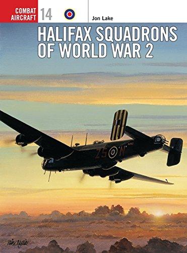 Halifax Squadrons of World War 2 (Osprey Combat Aircraft 14) - British Bomber Aircraft