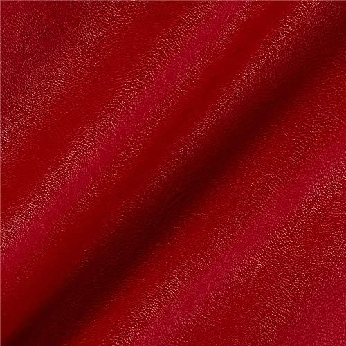 5ft x 54 VViViD Red Weatherproof Faux Leather Finish Marine Vinyl Fabric