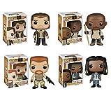 The Walking Dead Season 5 Rick Grimes, Morgan, Abraham and Michonne Pop! Vinyl Figures Set of 4