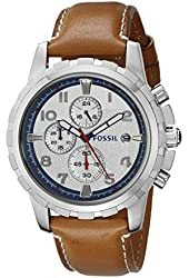 Fossil Men's FS5069 Dean Analog Display Analog Quartz Brown Watch