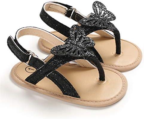 51sOwBYVn1L. AC - COSANKIM Infant Baby Girls Summer Sandals With Flower Soft Sole Newborn Toddler First Walker Crib Dress Shoes