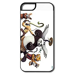 Kung Fu Panda Friendly Packaging Case Cover For IPhone 5/5s - Vintage Cover