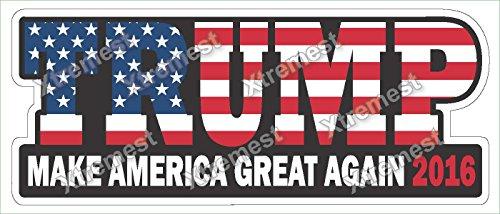 Trump 2016 bumper sticker decal product image