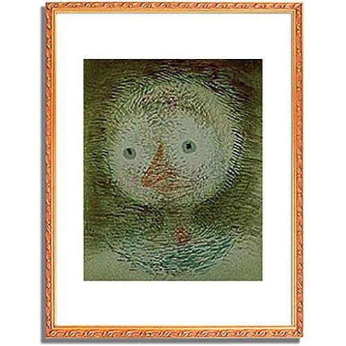 パウルクレー 「Maske dummes Madchen. 1928. 」 インテリア アート 絵画 壁掛け アートポスターフレーム:装飾(金) サイズ:S(221mm X 272mm) B00PB7GQ1Y 1.S (221mm X 272mm)|4.フレーム:装飾(金) 4.フレーム:装飾(金) 1.S (221mm X 272mm)