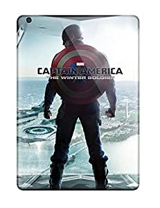 High Impact Dirt/shock Proof Case Cover For Ipad Air (captain America The Winter Soldier)