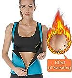 Women Neoprene Vest Sauna Sweat Weight Loss Workout Top