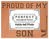 Hockey Dad Mom Gift Proud of m