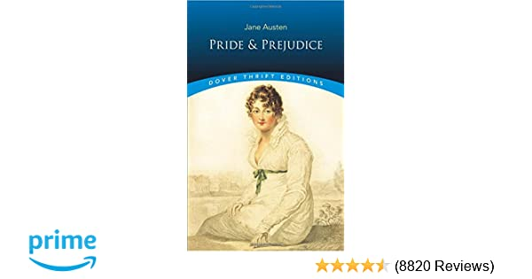 Pride and prejudice dover thrift editions jane austen pride and prejudice dover thrift editions jane austen 8580001040332 amazon books fandeluxe Image collections