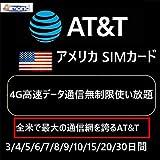 アーモンドSimアメリカ AT&TプリペイドSIMカード USA SIM ハワイ プリペイドSIMカード インターネットPLUG TO GO 4G高速データ通信無制限使い放題 – アメリカ AT&T SIM 3日間