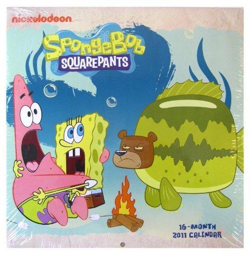 Nickelodeon SpongeBob Weekly Perpetual Calender/Planner with Magnetic by (Perpetual Weekly)