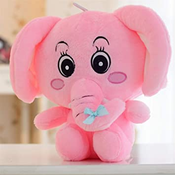 YOIL Lindo y Encantador Juguete Suave Peluches Adorable 50x40cm Peluche de Peluche Elefante Peluche Elefante Juguete