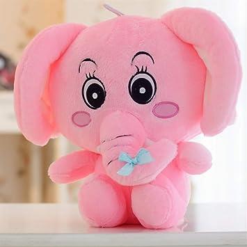 YOIL Lindo y Encantador Juguete Suave Peluches Lindo 25x20cm Elefante Peluche Juguetes Suaves Elefante Animado Juguetes