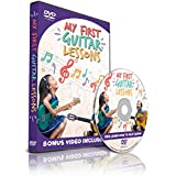 My First Guitar Lessons - Kids Learn How to Play Guitar - Bonus Video Included!