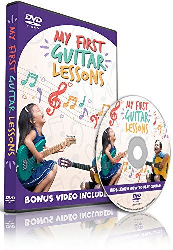 My First Guitar Lessons - Kids Learn How to Play Guitar - Bonus Video Included! by