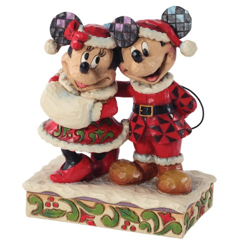 Amazon.com: Enesco Disney Traditions by Jim Shore Santa Mickey and ...