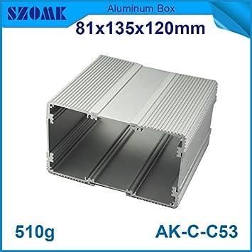Ochoos - Caja de conexiones para proyector (10 unidades, aluminio ...