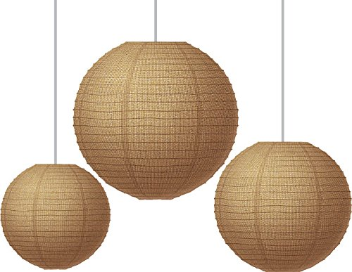 Teacher Created Resources 77228 Burlap Paper Lanterns 77228.0