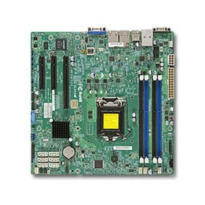 (Supermicro Dual LGA 1150/Core i3/Pentium/Celeron DDR3 SATA3/uATX Motherboard)