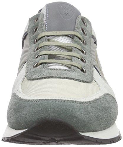 Strellson Claude Low Sneaker Ii Suede/Fabric - Zapatillas Hombre Grün (601)