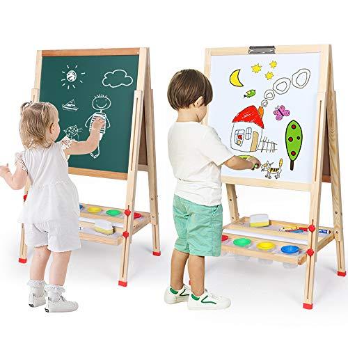 Double Sided Whiteboard Chalkboard Multiple Use Magnetics product image