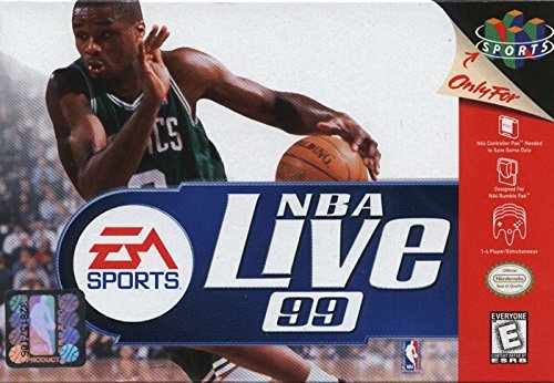 nba live 99 - 2