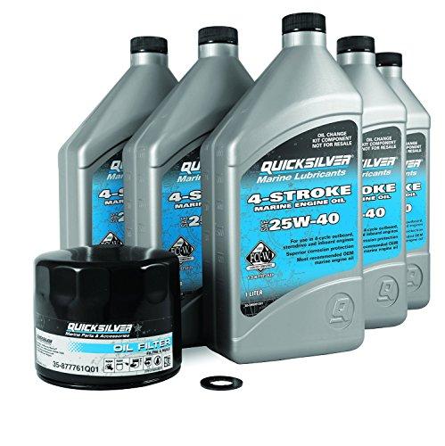 Quicksilver 4-Stroke EFI Oil Change Kit, 40/50/60 HP