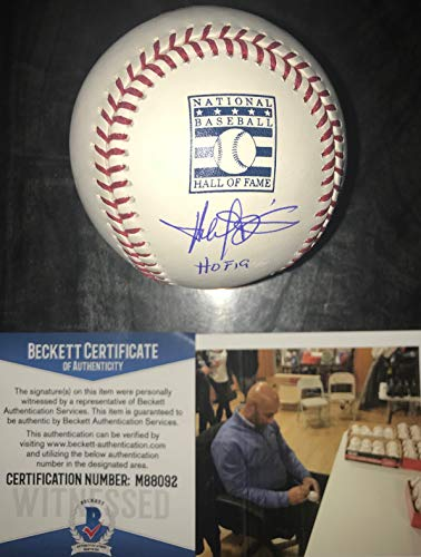 Harold Baines Chicago White Sox Autographed Signed Official Hall of Fame Baseball with HOF 19 Beckett COA ()