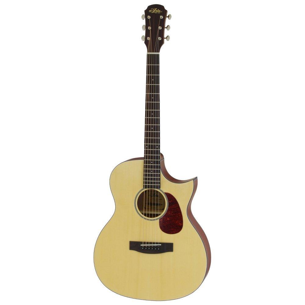 ARIA 101CE MTN Cutaway Electric リッターケース付き エレクトリックアコースティックギター   B01N0741CG