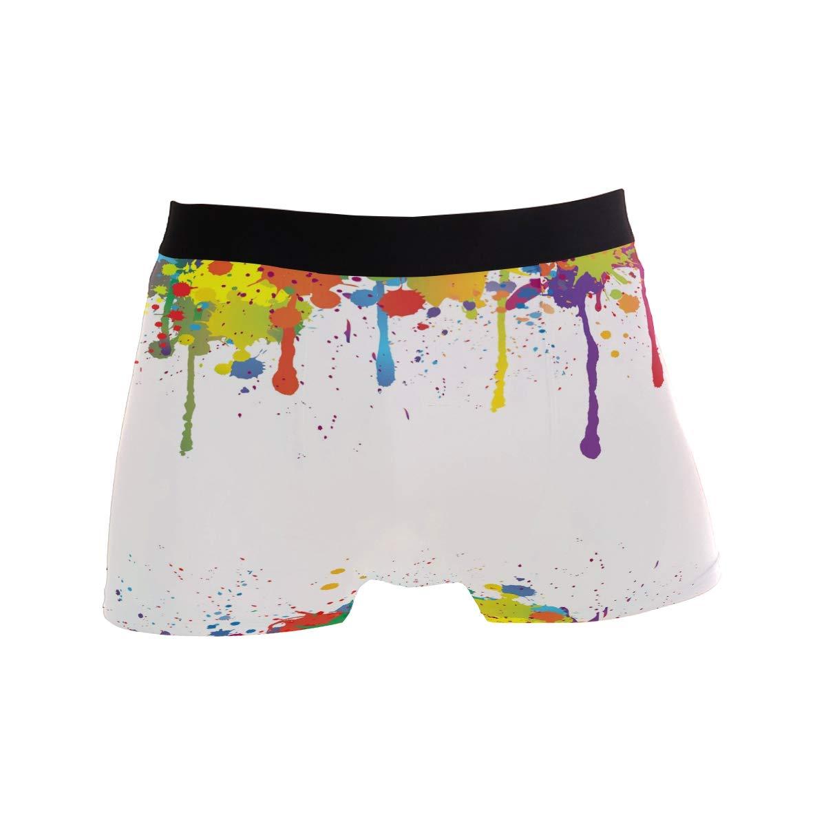 Colorful Ink Men/'s Boxer Briefs Underwear Stretchable S-XL