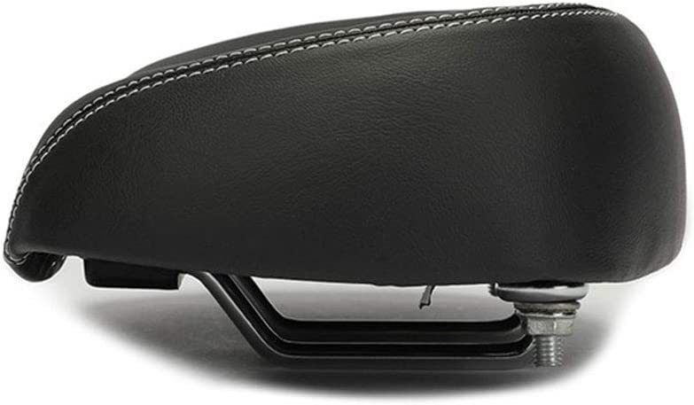 asiento de repuesto con asiento acolchado suave para bicicletas de carretera ancho grande 26x17cm c/ómodo asiento de bicicleta suave monta/ña y plegables SUNERLORY Sill/ín de bicicleta sin nariz