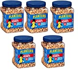 Planters Dry Roasted Peanuts, 34.5 Ounce Container, 15 Tubs