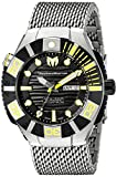 TM-513006 TM-513006 Black Reef Display analógico Swiss Watch plateado automático de Technomarine para hombre