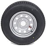 #8: eCustomRim Trailer Tire & Rim 60210 ST185/80R13C 1480# 50PSI 13X4.5 5-4.5 Modular Silver