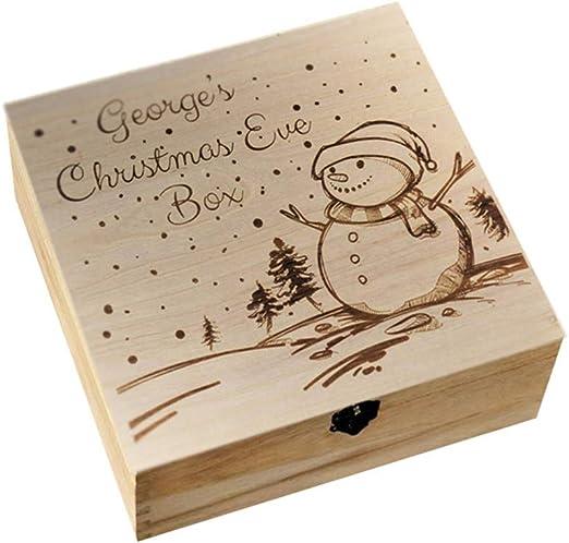 Hippicity - Caja Madera, Corte láser, para tallar de Navidad, con ...