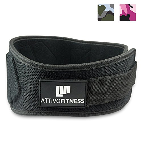 "Weightlifting Belt for Men and Women [6"" Back Support] Superior Back Support for Squats, Deadlifts, Powerlifting, CrossFit, Heavy Lifting"