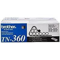 Cartucho de tóner genuino de alto rendimiento de Brother, tóner negro, rendimiento de página hasta 2,600 páginas, TN360