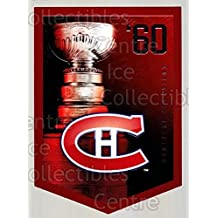 Montreal Canadiens Hockey Card 2011-12 Panini Molson Coors Stanley Cup Champions #1960 Montreal Canadiens