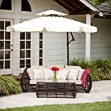 Tahiti Outdoor Cantilever Patio Umbrella