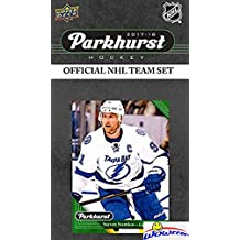 Tampa Bay Lightning 2017/18 Upper Deck Parkhurst NHL Hockey EXCLUSIVE Limited Edition Factory Sealed 10 Card Team Set including Victor Hedman, Steven Stamkos & all the Top Stars & RC's! WOWZZER!
