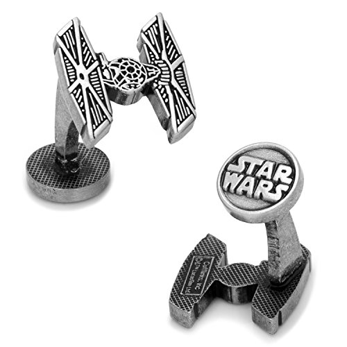Boxed Tie Fighter - Star Wars Men's TIE Fighter Cufflinks (SW-TIEF-SL)